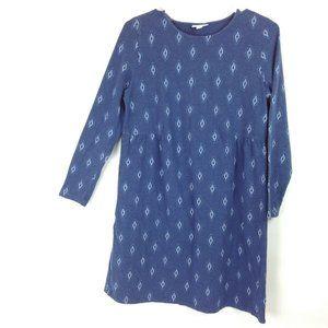 J Jill Petite Large Cotton Blend Shift Dress
